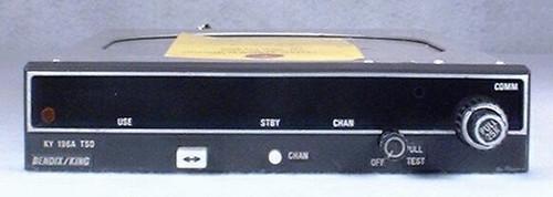 KY-196A COMM Transceiver Closeup