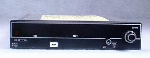 KY-197 COMM Transceiver Closeup