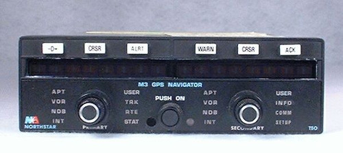 M3 VFR GPS Navigator Closeup