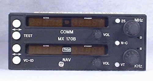 MX-170B NAV/COMM Closeup