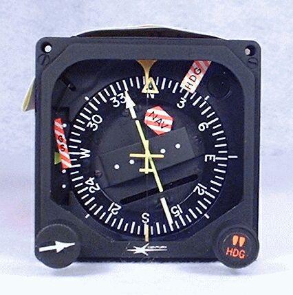 NSD-360A Non-Slaved Compass System (HSI) Closeup