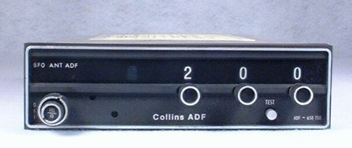RCR-650 ADF Receiver Closeup