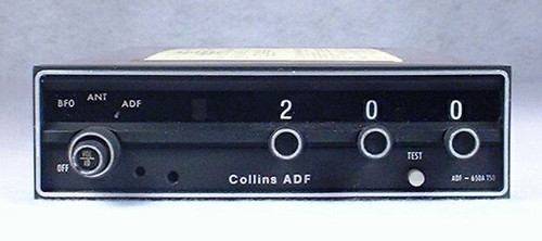 RCR-650A ADF Receiver Closeup