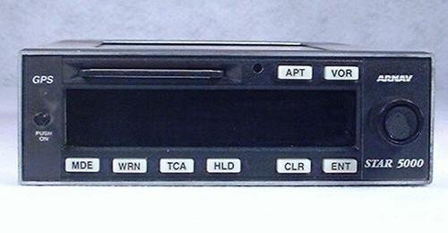 STAR 5000 VFR GPS Navigator Closeup