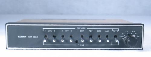 TMA-330D Audio Panel and Intercom Closeup