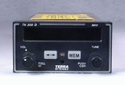 TN-200D NAV Receiver Closeup