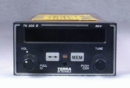 TN-200D NAV Receiver with Glideslope Closeup