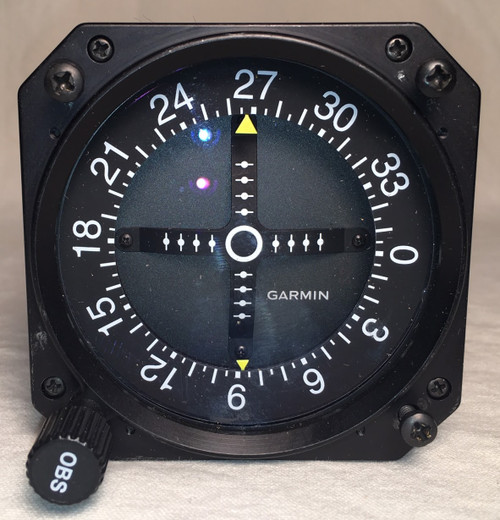 GI-106B GPS / VOR / LOC / Glideslope Indicator Closeup