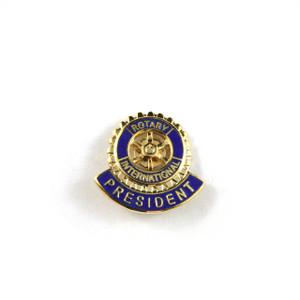 Rotary President Lapel Pin