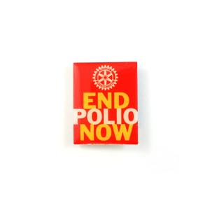 End Polio Now Lapel Pin