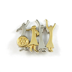 Celebration of Women in Rotary Lapel Pin