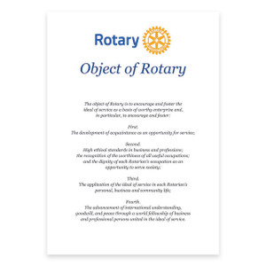 Object of Rotary Certificate
