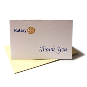 Rotary Thank You Cards (10 pack)