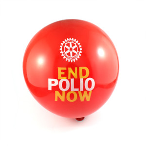 End Polio Now Balloons (25 pack)