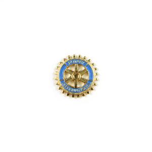 Rotary 13mm Flat Metal Emblem