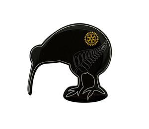 Rotary Kiwi Pin