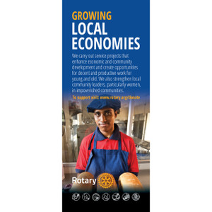 Rotary Foundation Community Pull-up Banner