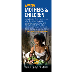 Rotary Foundation Maternal Health Pull-up Banner