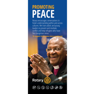 Rotary Foundation Peace Pull-up Banner