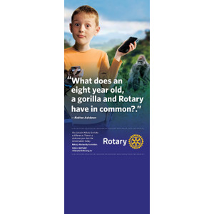 Rotary Nathan Ashdown Pull-up Banner