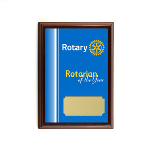 Rotarian of the Year Plaque