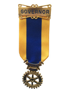 Rotary District Governor Medal