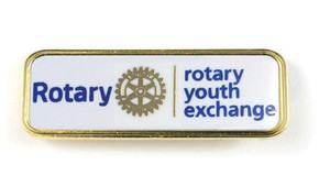 Youth Exchange Lapel Pin