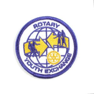 Youth Exchange Cloth Badge