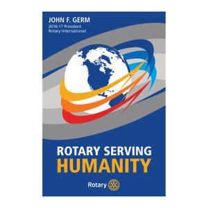 Rotary 2016-17 Theme Podium Banner
