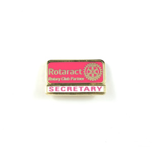 Rotaract Secretary Lapel Pin