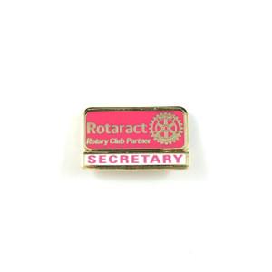 Rotaract Secretary Lapel Pin