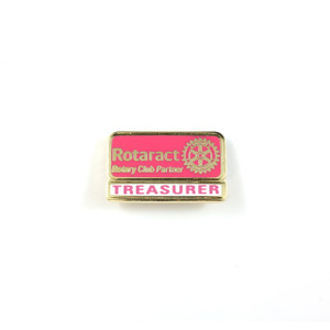 Rotaract Treasurer Lapel Pin