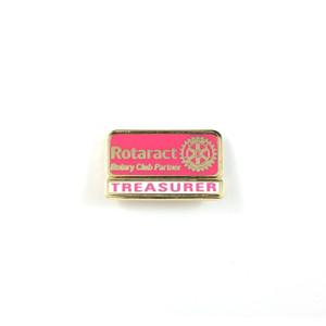 Rotaract Treasurer Lapel Pin