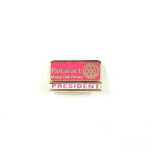Rotaract President Lapel Pin