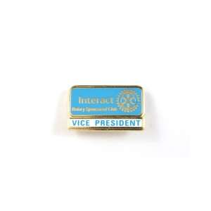 Interact Vice President Lapel Pin