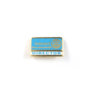 Interact Director Lapel Pin