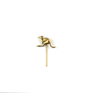Gold Kangaroo Lapel Pin