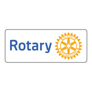 Rotary 80mm Masterbrand Rectangular Sticker