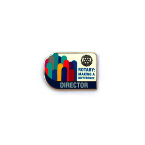 Rotary 2017-18 Theme Director Lapel Pin