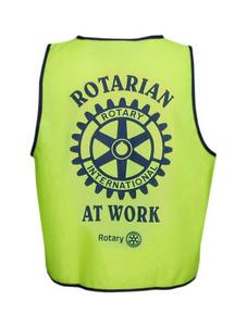 """Rotarian at Work"" High-Vis Vest"