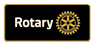 Metal black flat Rotary emblem