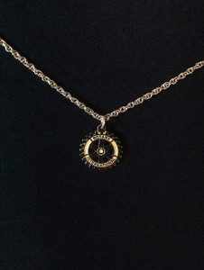 Gold Emblem necklace