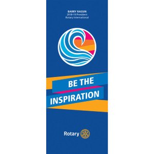 Rotary 2018-19 Theme Pull-up Banner