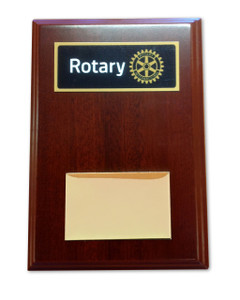 Basic Rotary Plaque