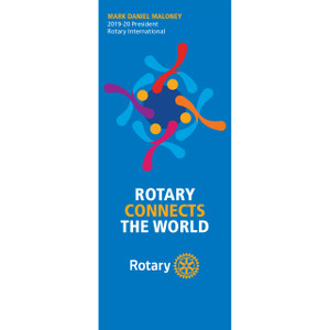 Rotary 2019-20 Theme Pull Up Banner