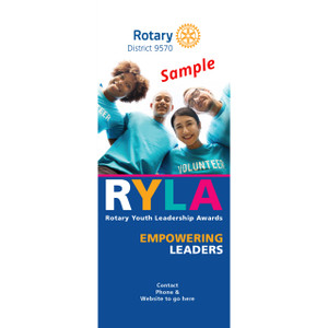 RYLA Pull Up Banner