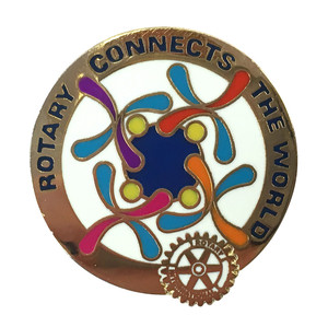 Rotary 2019-20 Theme Magnetic Lapel Pin