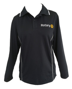 Rotary Long Sleeve Polo