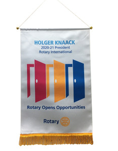Rotary 2020-21 Theme Podium Banner