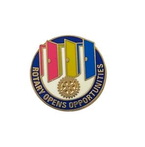 Rotary 2020-21 Theme Pin-back Lapel Pin